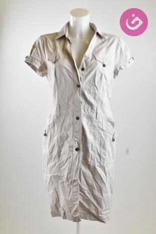 Dámské šaty, Vel. 40, Taifun, barva béžová