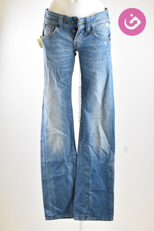 Dámské kalhoty, Vel. 25, Replay, barva modrá