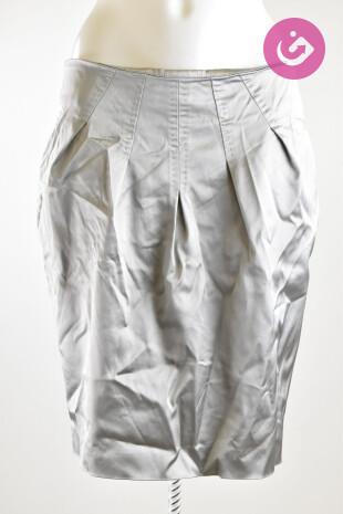 Dámská sukně, Vel. 38, Pietro Filipi, barva stříbrná