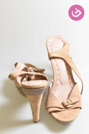 Dámské sandále, Vel. 40, Baťa, barva hnědá