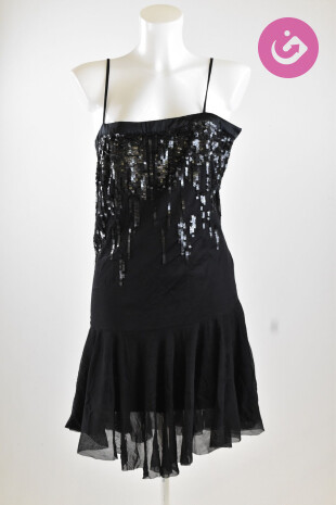 Dámské šaty, Vel. 42, Patrizia Pepe, barva černá