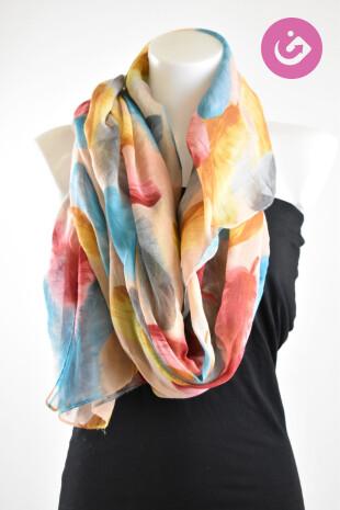 Dámský šátek, Baťa, barva vícebarevná