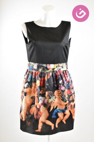 Dámské šaty, Vel. M, Rinascimento, barva vzorovaná