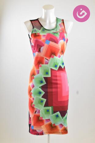 Dámské šaty, Vel. S, Desigual, barva vícebarevná
