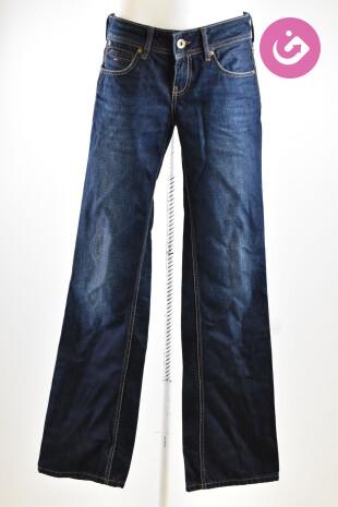 Dámské kalhoty, Vel. 28, Tommy Hilfiger, barva modrá