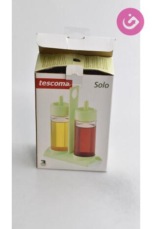 Bytový doplnok - Souprava olej a ocet, farba zelená, veľkosť