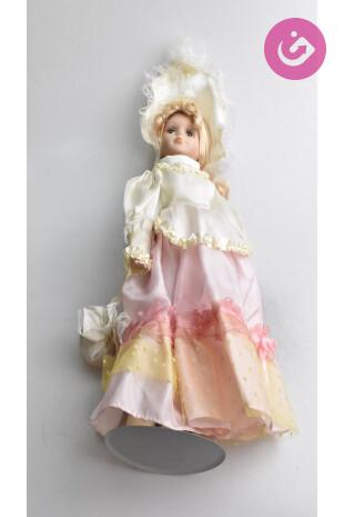 Bytový doplnok - Porcelánová panenka, farba vícebarevná, veľkosť