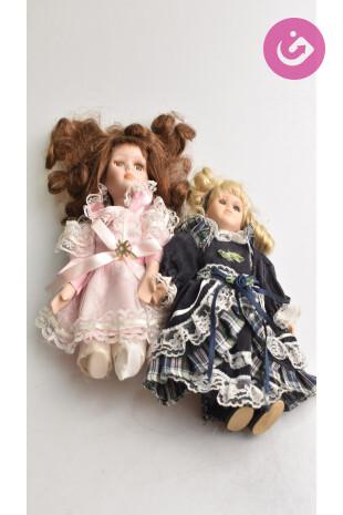 Bytový doplnok - Porcelánové panenky, farba vícebarevná, veľkosť