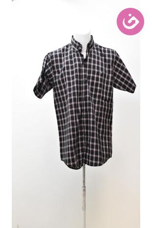 Pánská košile Lacoste, barva vzorovaná, velikost L
