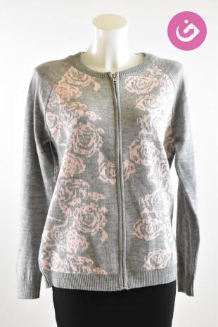 Dámský svetr Koton, barva květovaná, velikost XL