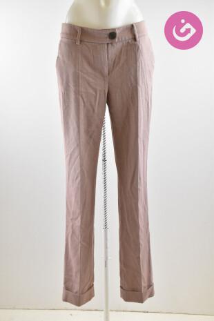 Dámské kalhoty Pietro Filipi, barva růžová, velikost 36