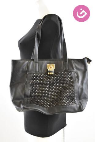 Dámská kabelka Gaudí, barva černá, velikost