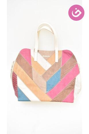 Dámská kabelka Desigual, barva vícebarevná, velikost