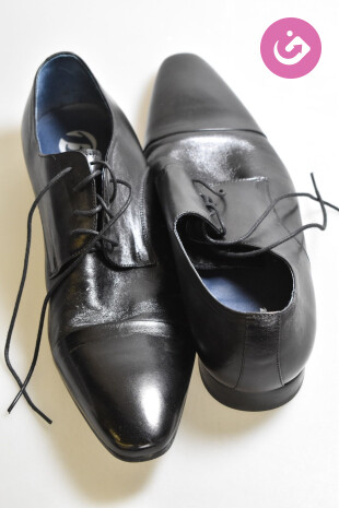 Pánské boty Baťa, barva černá, velikost 45