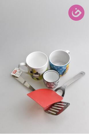 Bytový doplněk - Pomůcky do kuchyně, barva vícebarevná, velikost