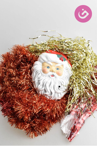 Bytový doplněk - Vánoční dekorace, barva vícebarevná, velikost