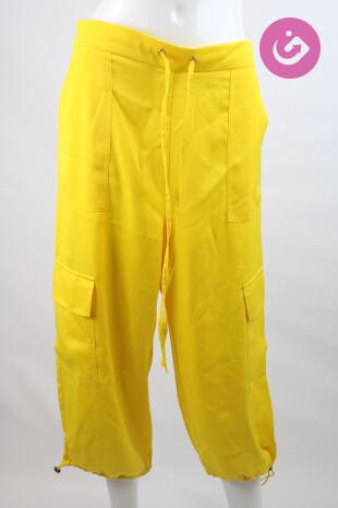 Dámské kalhoty, Velikost 42, Asos, barva žlutá
