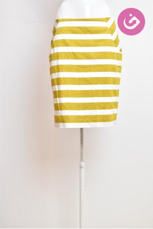 Dámská sukně, Vel. 36, Pietro Filipi, barva pruhovaná