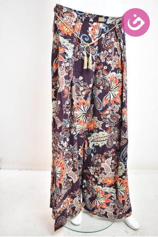 Dámské kalhoty, Velikost 44, Roberta Biagi, barva vícebarevná