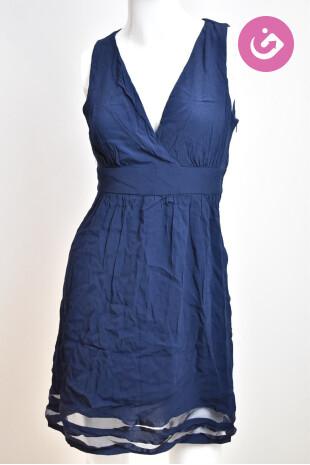 Dámské šaty, Velikost 40, Naf Naf, barva modrá