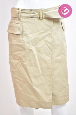 Dámská sukně, Velikost 38, Pietro Filipi, barva béžová