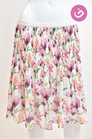 Dámská sukně, Velikost 42, Koton, barva květovaná