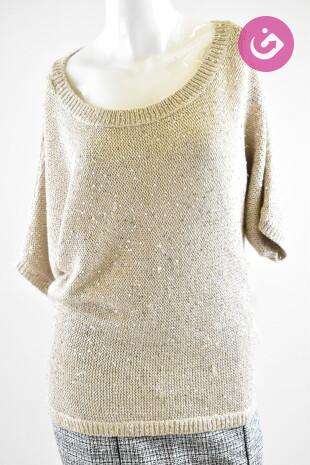 Dámský svetr, Velikost S, Tommy Hilfiger, barva béžová