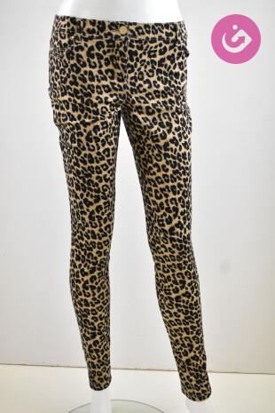 Dámské kalhoty, Velikost 40, Oodji, barva zvířecí vzory