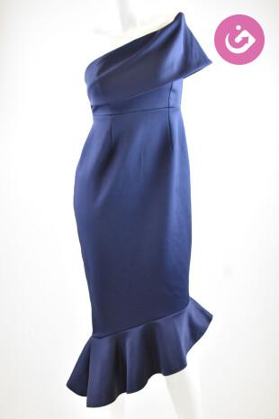 Dámské šaty, Velikost 34, Asos, barva modrá