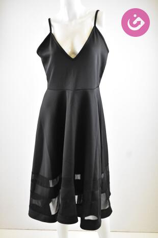 Dámské šaty, Velikost 44, Boohoo, barva černá