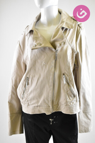 Dámská bunda, Velikost 18, Rocha.john Rocha, barva béžová